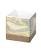Lottie Large Marble Planter, Cream / Gold