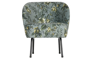Poppy Cocktail Chair, Grey
