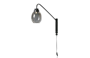Bubbles Wall Lamp, Black / Grey