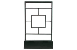 Holly Shelving Unit, Black