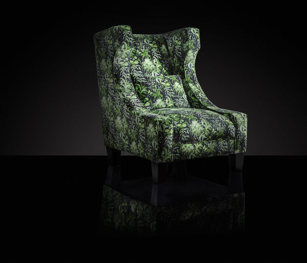 Out of the Woods Velvet Accent Chair | Honora Exclusive