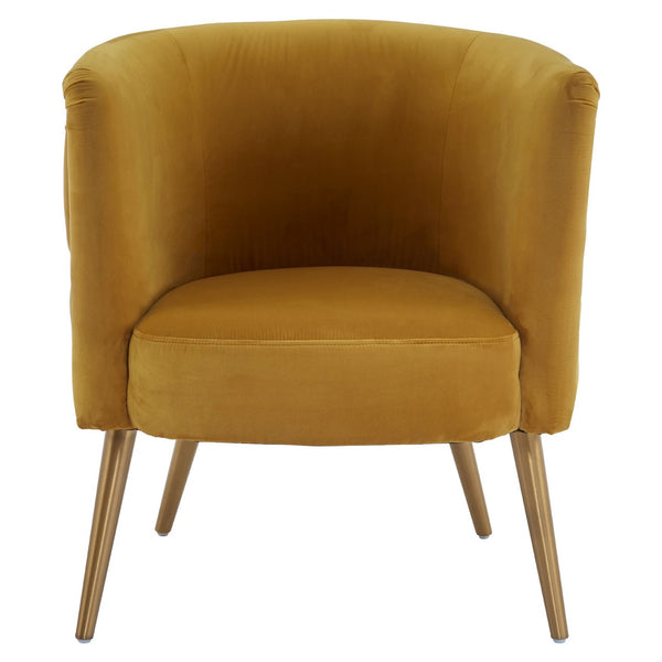 Carrie Tub Chair, Ochre