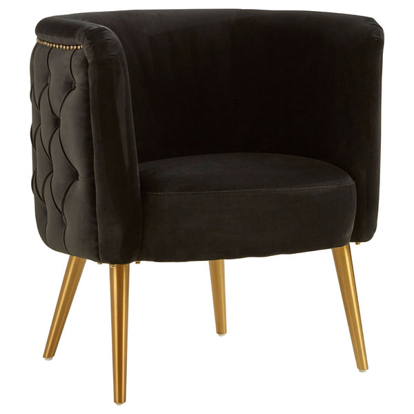 Carrie Tub Chair, Black