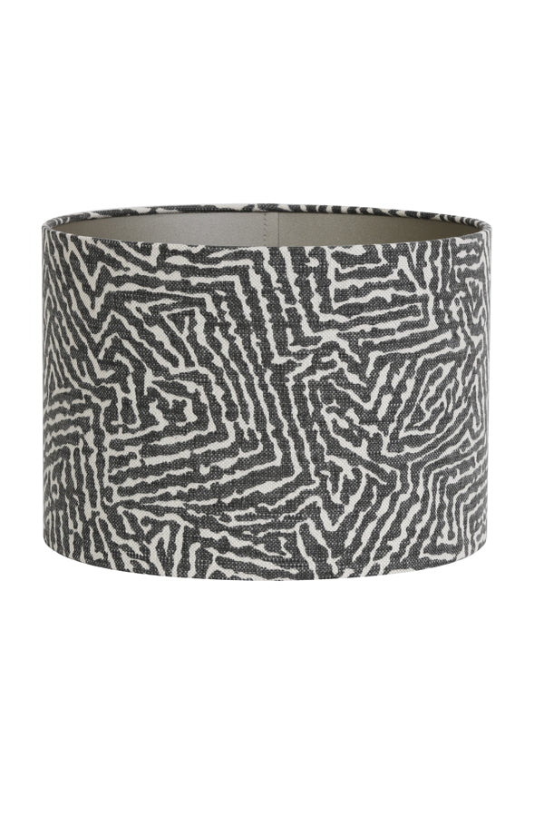 Jessica Light Shade, Abstract Zebra