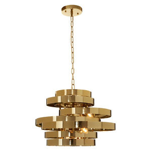 Juliette Ceiling Pendant, Gold Finish