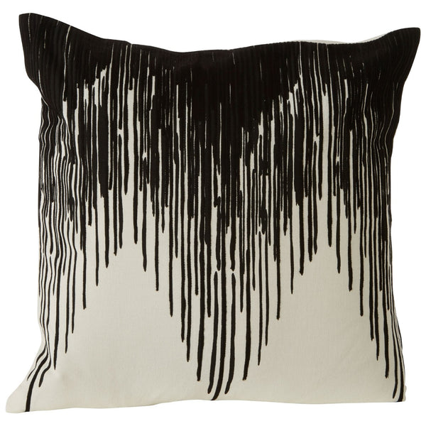 Liza Square Cushion, Embroidered