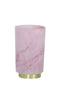 Marble Effect LED Table Lamp, Pink