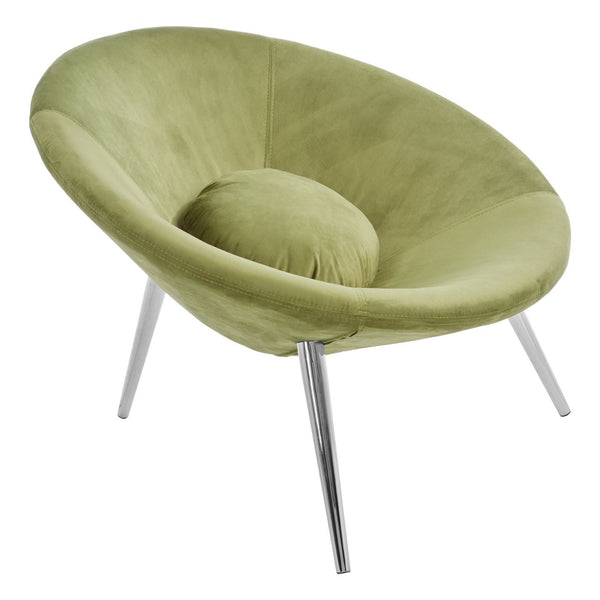 Marley Accent Chair, Olive Green
