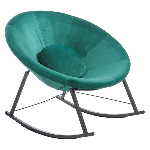 Marley Rocking Chair, Teal