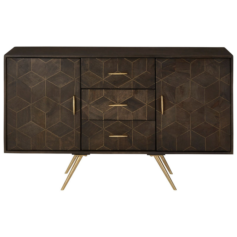 Norah Sideboard, Mango Wood / Iron