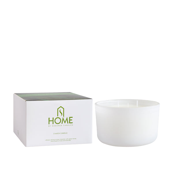 'Garden' 3 Wick Candle with Gift Box