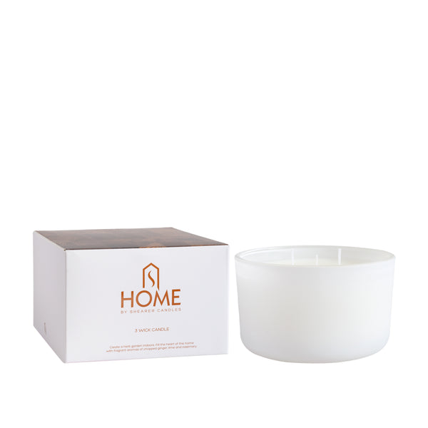 'Kitchen' 3 Wick Candle with Gift Box