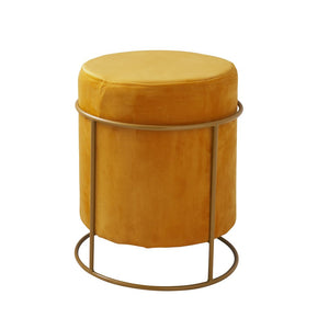 Kay Footstool, Mustard Yellow
