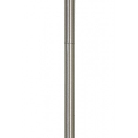 Faye Floor Lamp Stand, Marble / Silver