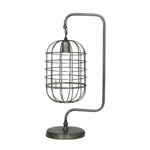 Nicola Wire Table Lamp, Tin