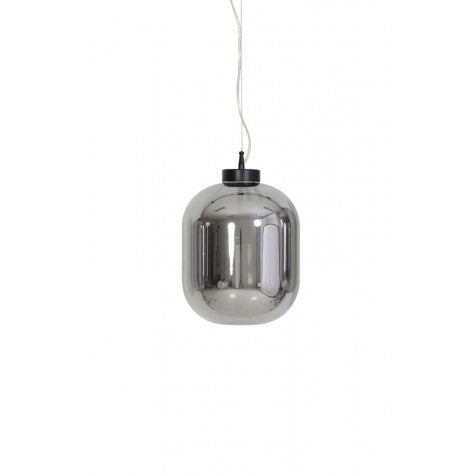 Brooklyn Hanging Ceiling Light, Smoke Grey