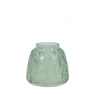 Jayla Glass Vase, Green