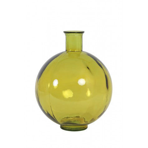 Rosaline Glass Light Vase, Ochre
