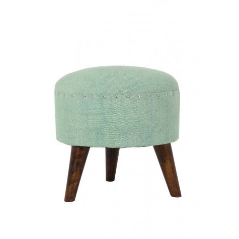 Tori Footstool, Mint Green