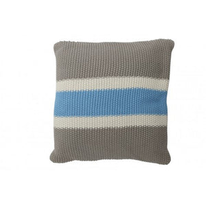 Alex Square Cushion, Blue