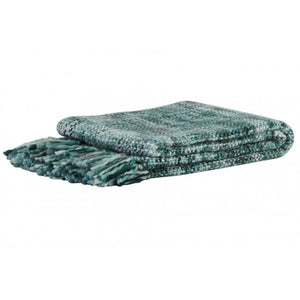 Rhona Throw, Teal