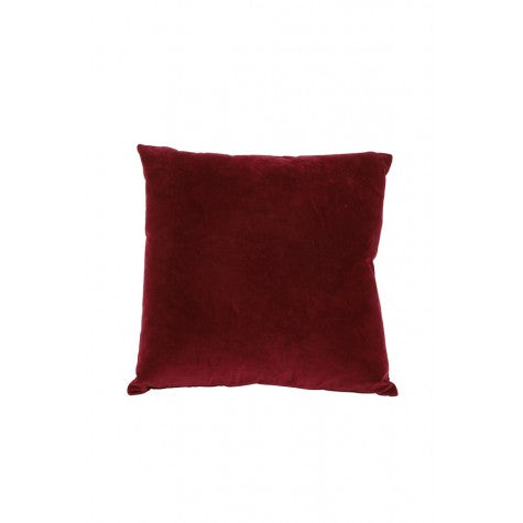 Evangeline Square Velvet Cushion, Pink