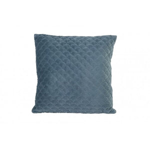 Shelley Square Cushion, Dusty Blue