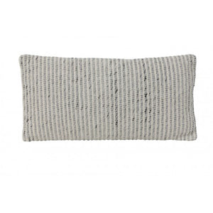 Ruth Cushion, Grey / White
