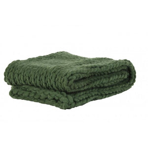 Kitty Throw, Olive Green
