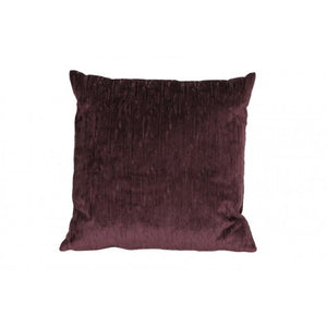 Ariana Square Cushion, Aubergine
