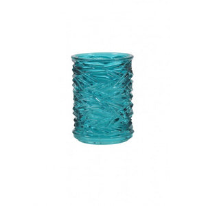 Adelyn Tealight Holder, Turquoise
