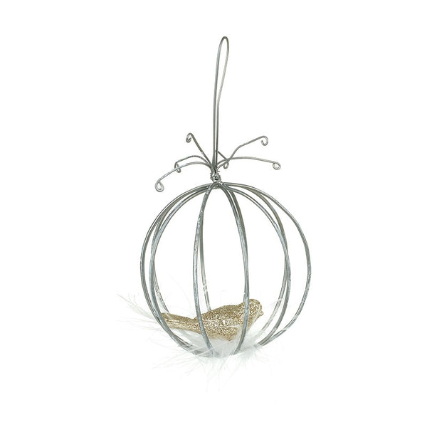 Bird Cage Christmas Decoration