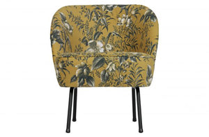 Poppy Cocktail Chair, Mustard