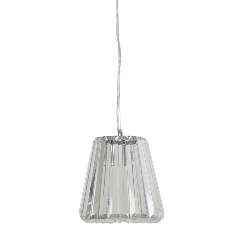 Mia Hanging Ceiling Light, Clear
