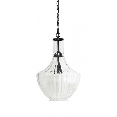 Joyce Hanging Light, Clear Glass