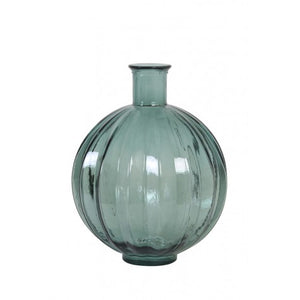 Rosa Glass Light Vase, Green