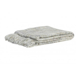 Rhona Throw, Grey