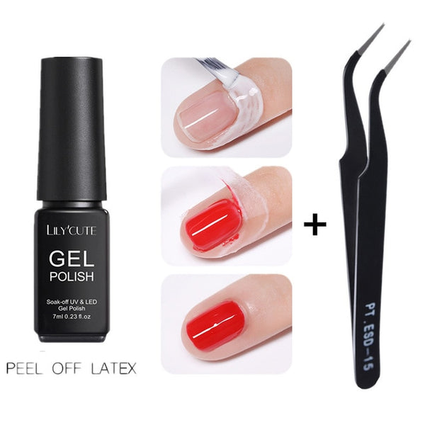 Manicure Peel Off Liquid Tape, Make Your Manicure Perfect