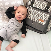 lekebaby diaper backpack