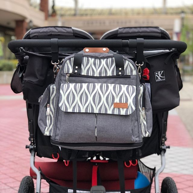 lekebaby messenger diaper bag