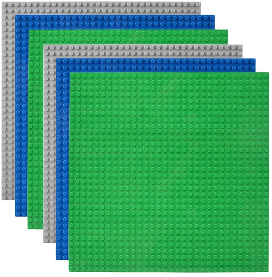 Lekebaby Building Bricks Baseplates