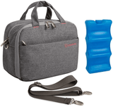Lekebaby Insulated Baby Bottle Cooler Bag