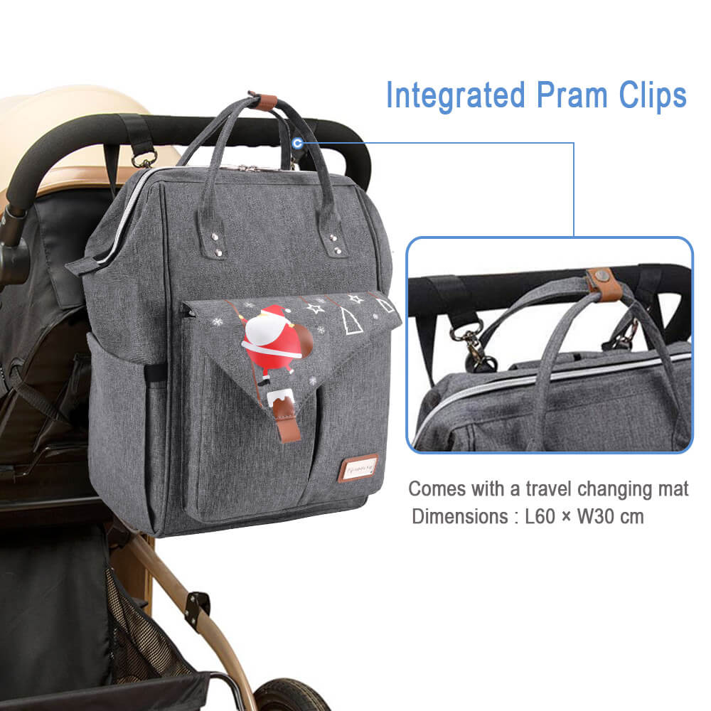 diaper backpack bag for traveling