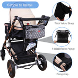 Lekebaby® Universal Stroller Organizer with Cup Holders