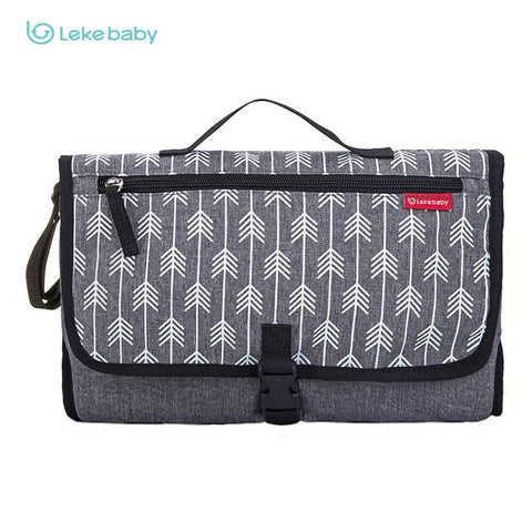 Lekebaby Arrows Diaper Changing Pad