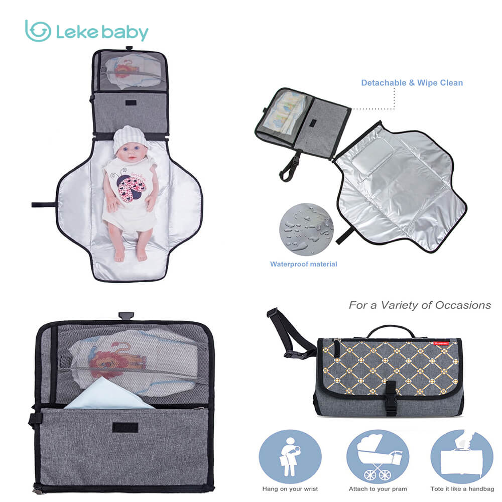 Lekebaby changing pad