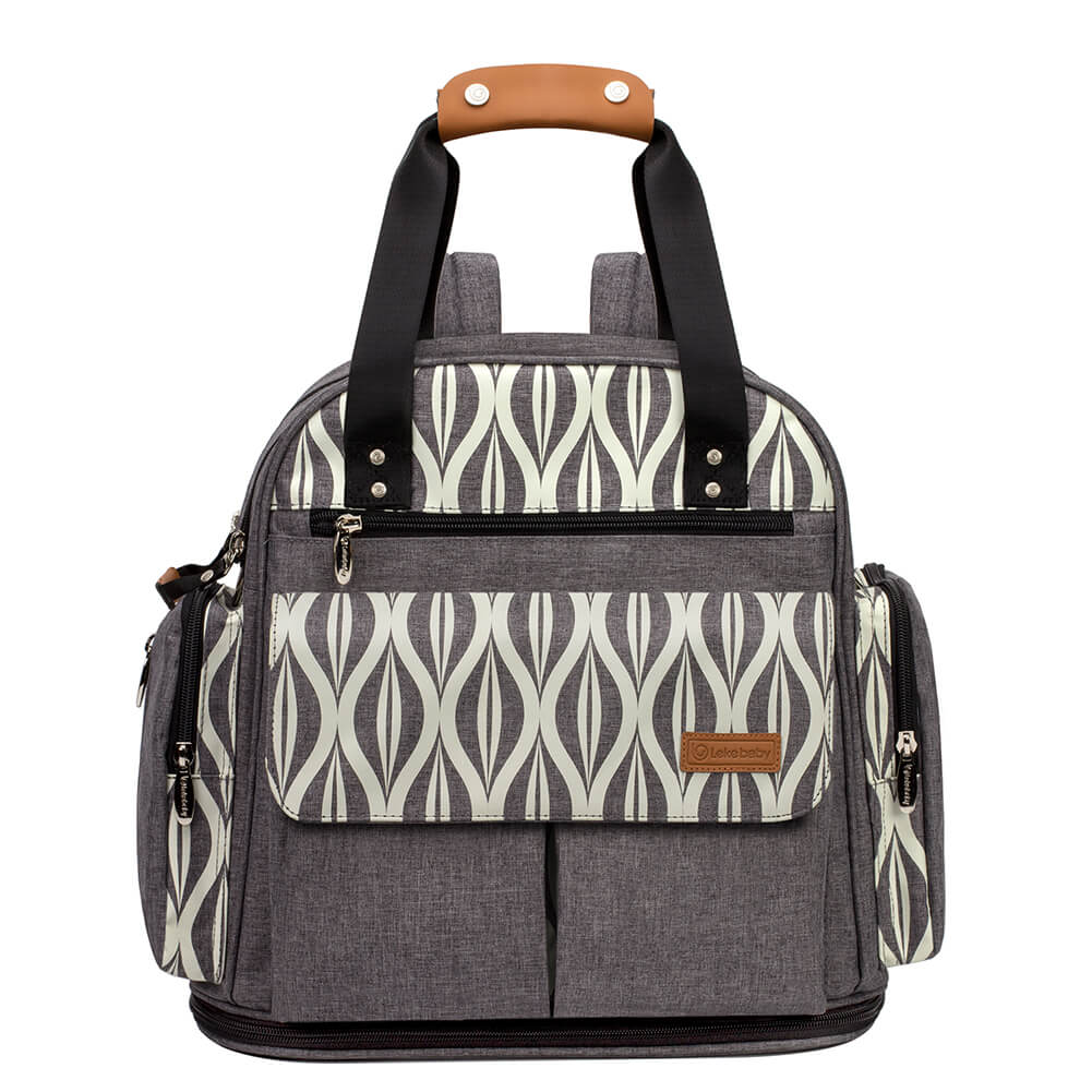 Lekebaby Expandable Tote Diaper Bag