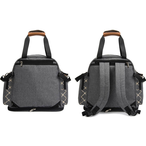 Lekebaby Expandable nappy changing Backpack Bag