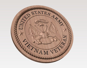 New plaque design for Army vets!