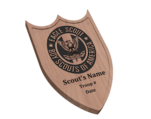 Eagle Scout Memorial Plaque